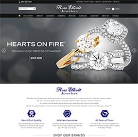 Responsive Websites and Customized ECommerce Solutions for Jewelry